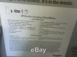 HP Pavilion 590-p0053w, Intel i5-8400, 8GB RAM, 16GB Intel Optane, 1TB HDD, Wind