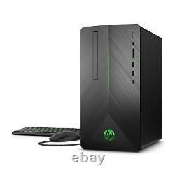 HP Pavilion 690 Gaming PC Intel i5-8400 12GB 1TB HDD 256GB SSD 1050Ti