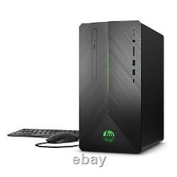 HP Pavilion 690 Series Gaming PC AMD Ryzen7-1700 16GB 1TB HDD RADEON RX550 4GB