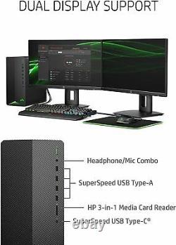 HP Pavilion Gaming Desktop AMD RYZEN 7 5700G 16GB RAM 512GB NVME 1TB 7200 HDD