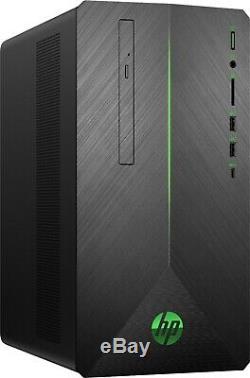 HP Pavilion Gaming Desktop Computer i5-8400 8GB RAM 1TB HDD 256GB SSD GTX 1060
