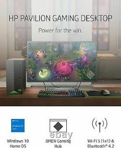 HP Pavilion Gaming Desktop Intel i5-11400 8GB Intel UHD 730 Graphics 512GB SSD