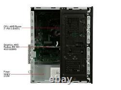 HP Pavilion Gaming PC AMD Ryzen 7 16GB DDR4 RAM Radeon RX550 4GB DDR5 1TB HDD VR