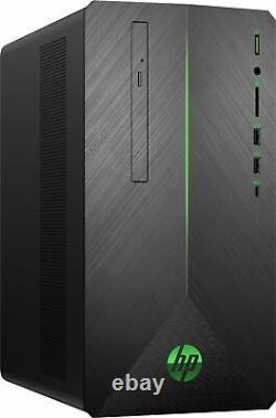 HP Pavilion I5-8400 8GB RAM 1TB HDD + 256GB SSD W10 Gaming Desktop PC