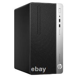 HP ProDesk 400 G5 i5-8500 8th Gen 8GB DDR4 RAM 256GB SSD NVME & 1TB HDD WiFi PC