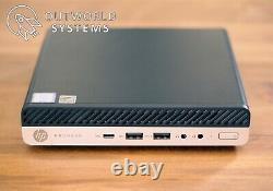 HP ProDesk 600 G4 Mini / USFF Core i5-8500T 6-core, 16GB DDR4, 256GB NVME SSD