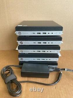 HP ProDesk 600 USFF/Tiny/Mini G4 i7-8700T 16GB New 240GB SSD HD Windows 10 Pro