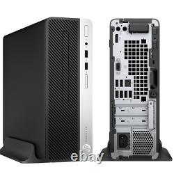 HP ProDesk 7th Gen. 16GB 2TB SSD Windows 10 Pro Desktop Computer PC WiFi
