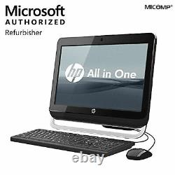 HP Pro 20 AIO Widescreen PC 8GB 1TB HDD WebCam WiFi Windows 10 Desktop Computer