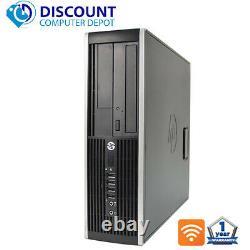 HP Pro Desktop Computer Core i3 3.1GHz 4GB 250GB DVD 19 LCD Windows 10 PC Wifi
