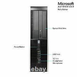 HP Pro Desktop Computer PC 8GB RAM 1TB HDD Dual Core Windows 10 WiFi 19 LCD Mon