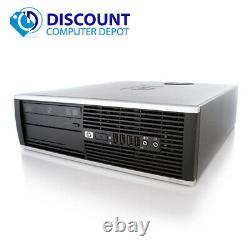 HP Pro Desktop Computer Tower PC 2.8GHz 4GB 160GB 17LCD Windows 10 Wifi DVD-RW