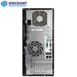 HP Tower Computer PC Windows 10 8GB 16GB 500G 1TB 2TB SSD Dual LCD Ready WiFi