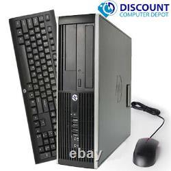 HP Windows 10 Pro Desktop Computer Intel QUAD CORE i5 Wifi, Keyboard & Mouse