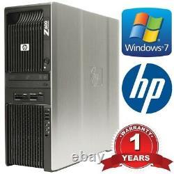 HP Workstation Z600 2x Xeon X5675 Six Core 3.06GHz 48GB DDR3 Quadro 1GB