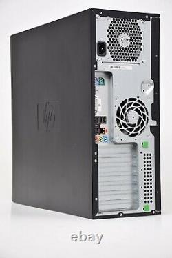 HP Z210 Workstation Tower 240GB SSD Core i7 3.4GHz 8GB Windows 10 Pro PC Desktop