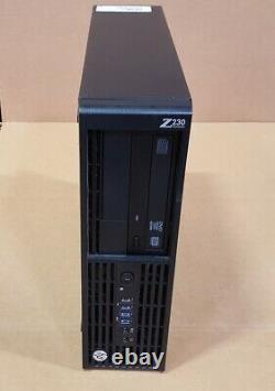 HP Z230 SFF Workstation i7-4790 16GB RAM 256GB SSD Win10 Pro WIFI DVDRW