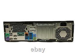 HP Z240 SFF PC Workstation i7-6700 Quad Core 8GB DDR4 512GB m. 2 SSD No OS
