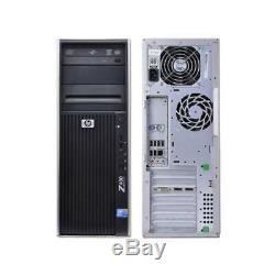 HP Z400 PC Intel Xeon 6 Core X5650 12GB RAM 240GB SSD
