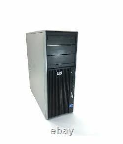 HP Z400 Workstation Intel Xeon Quad Core Tower Desktop 16GB RAM 1TB HDD