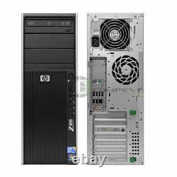 HP Z400 Workstation PC Xeon W3550 3.06GHz 12GB 128GB SSD+1TB WIFI WIN10 HD3450