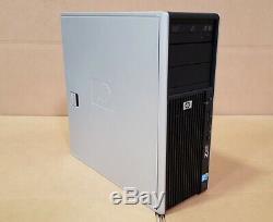 HP Z400 Workstation Xeon X5670 6 cores 12GB RAM 128GB SSD + 1TB HDD Win10 DVDRW