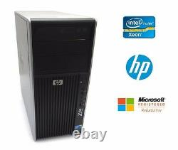 HP Z400 Workstations Xeon Quad-Core 12GB 128 GB SSD + 2TB Windows 10 Pro 64bit