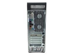 HP Z600 Workstation Tower 2x Intel Xeon 32GB RAM 2TB HDD USB LAN Win 10 B Grade