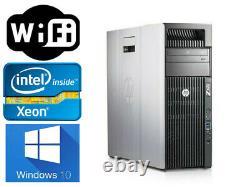 HP Z620 Workstation Xeon 8CORES E5-2690 32GB 240GB SSD+1TB Q600 wifi WIN10