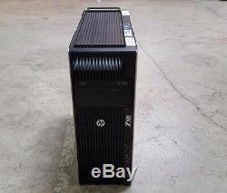 HP Z620 Workstation Xeon E5-2690 2.90GHz 32GB RAM 128GB SSD + 1TB HDD Win10 Pro
