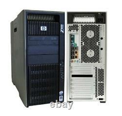HP Z800 Workstation Xeon 12CORES 2X X5670 2.93GHz 64GB 240GB SSD+4TB Q600 wifi