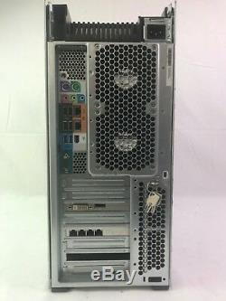 HP Z820 16-Core 2.7GHz E5-2680 128GB RAM 480GB SSD + 9TB HDD Quadro 410 Win7 Pro