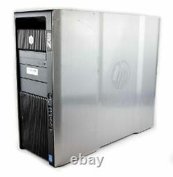 HP Z820 Workstation PC Dual Xeon CPU 128GB 256GB RAM HDD SSD Nvidia Quadro GPU