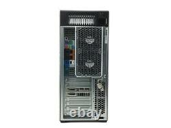 HP Z820 Workstation Tower 2xIntel Xeon 128GB RAM 128GB SSD+4TB HDD Win10 B Grade