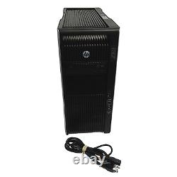 HP Z820 Workstation Tower 2x Intel Xeon 128GB RAM 250GB SSD+1TB HDD Win10 Pro