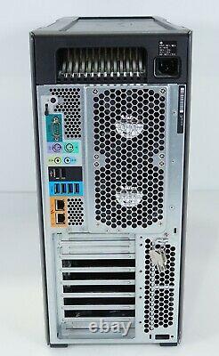 HP Z840 Tower 24-Core 2x Intel E5-2680 v3 2.5GHz 32GB DDR4 NO GPU HDD