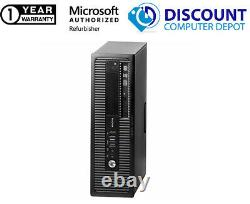 HP i5 Desktop Computer Intel SFF PC 3.30GHz 8GB RAM 500GB HD Windows 10 PC DVD