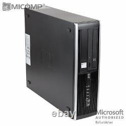 Hp Desktop Computer PC & Dual LCD 500GB HD 8GB RAM WiFi Windows 10 Quad Core i5