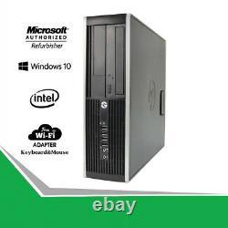 Hp Gaming Desktop 8200 Core I5 Computer 8GB 500GB Nvidia GT1030 HDMI WiFi Win 10