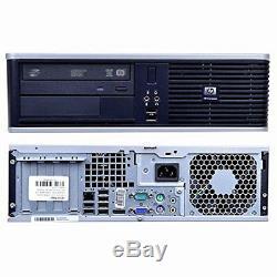Hp or Dell Desktop PC Computer Core 2 Duo 4GB RAM DUAL 19 LCDs WiFi Windows 10