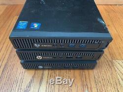 Lot of 3 HP 800G1 EliteDesk mini i5 4590T Quad Core 4GB RAM For parts or Repair