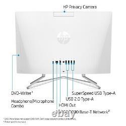 NEW HP 22-DF0003W 22 ALL-IN-ONE DESKTOP COMPUTER INTEL 3.20GHz 4GB 256GB SSD