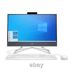 NEW HP 22-DF0013W 22 ALL-IN-ONE DESKTOP COMPUTER INTEL 3.20GHz 4GB 256GB SSD