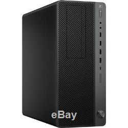 NEW HP Desktop Workstation Intel i5-9600 3.1GHz 16GB 256GB SSD Windows 10 Pro