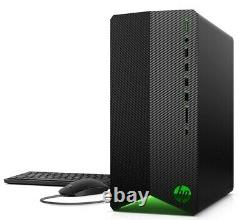 NEW HP Gaming Desktop GTX 1650 SUPER AMD Ryzen 5 3500 4.1GHz 256GB SSD 8GB RAM
