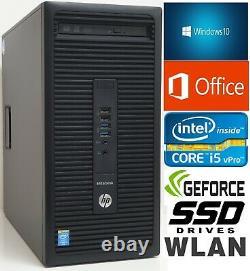 PC Windows 10 +OfficeIntel i5 3.7GHz8GB RAM240GB SSDHD4600 +2GBWLANUSB 3.0