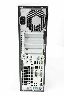 RB HP PRODESK 600 G2 SFF INTEL I7-6700 3.40G 2TB 8GB DVDRW GT730 Win 10 PRO WIFI
