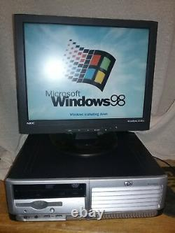 Windows 98 SE DOS Computer PC Pentium 4 3.0Ghz Sata Hard Drive Industrial & More