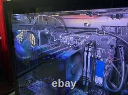 With GPU RTX2060- HP OMEN 30L Gaming Desktop Ryzen 7 3700x 16GB SSD and HDD